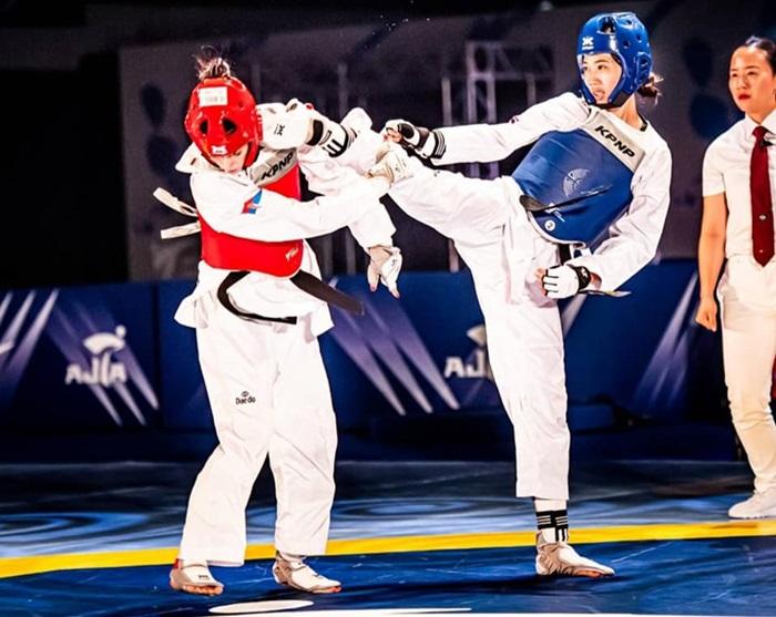 เทควันโดไทย-นักกีฬา