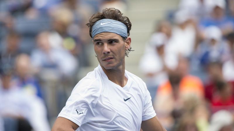 ราฟาเอล นาดาล นักเทนนิสจากสเปน