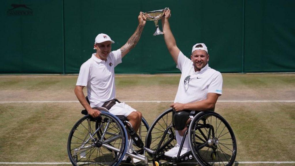 แอนดี้ แลปธอร์น นักเทนนิสผู้พิการ