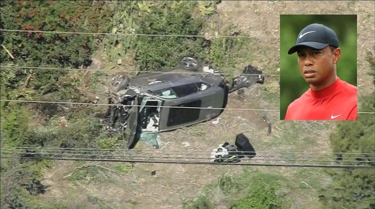 ไทเกอร์ วูดส์ ได้ประสบอุบัติเหตุทางรถยนต์