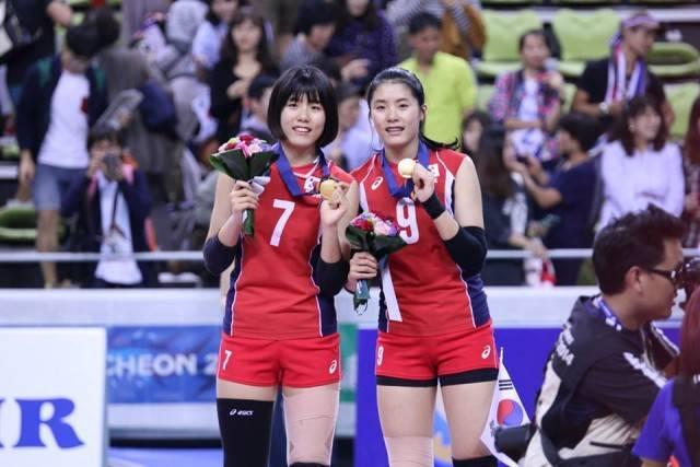 กฎกติกา กีฬาวอลเลย์บอล ห้าม 2 ฝาแฝดทีมเกาหลี ลงการแข่งขัน