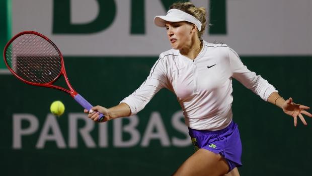 นักเทนนิสสาวชาวแคนาดา บูชาร์ด
